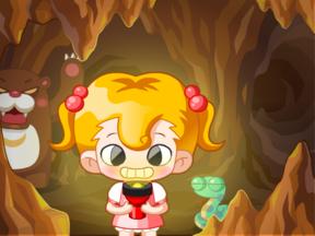 키니의 동굴 탐험
