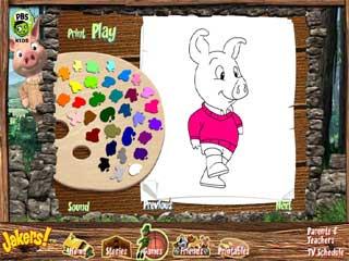 동물 색칠하기