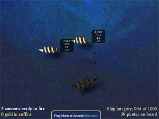 해적선 보물찾기 게임