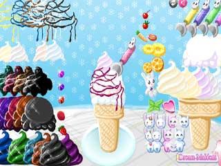 아이스크림 꾸미기