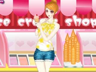 아이스크림 걸 옷입히기