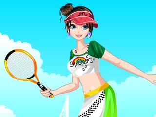 테니스 선수 옷입히기