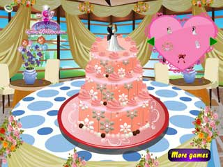 웨딩 케이크 바킹