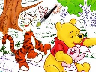 위니,티거 & 피글렛 컬러매스 게임