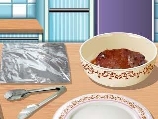 사라스 쿠킹 클래스 비프 샐러드