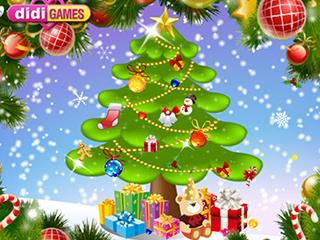 팬시 크리스마스 트리