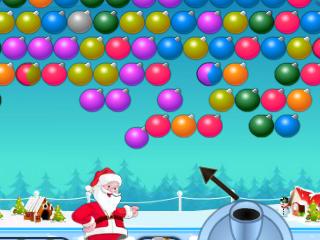 산타 버블 슈터