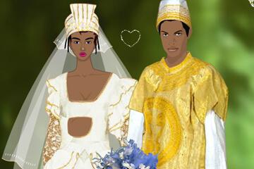 아프리칸 웨딩