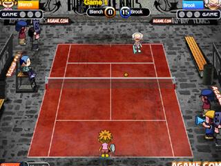힙합 테니스