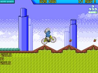 스머프 BMX