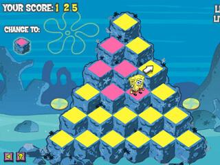 스폰지밥 피라미드 페릴