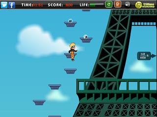 나루토 타워 점프