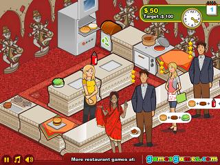 버거 레스토랑 3