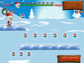 점프 점프 산타