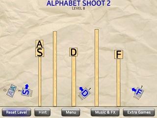 알파벳 슛 2