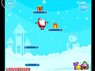 점프 산타 점프