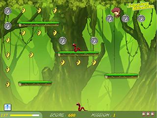 점핑 바나나스