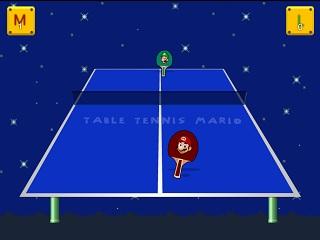 테이블 테니스 마리오