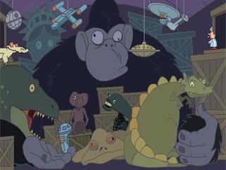 몽유병 아저씨 2탄-공룡편
