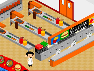 맥도날드시뮬레이션