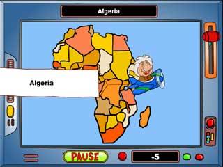 지도게임 - 아프리카