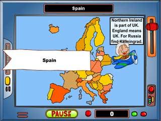 지도게임 - 유럽