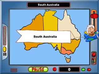 지도게임 - 호주