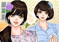 여름향기 꽃프린트
